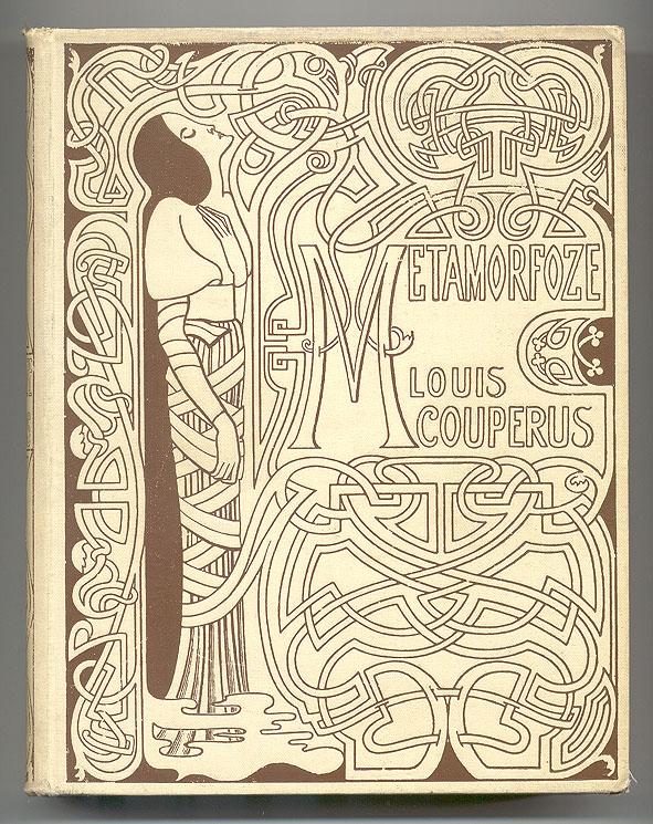Metamorfoze - Louis Couperus, bandontwerp Jan Toorop (1897)