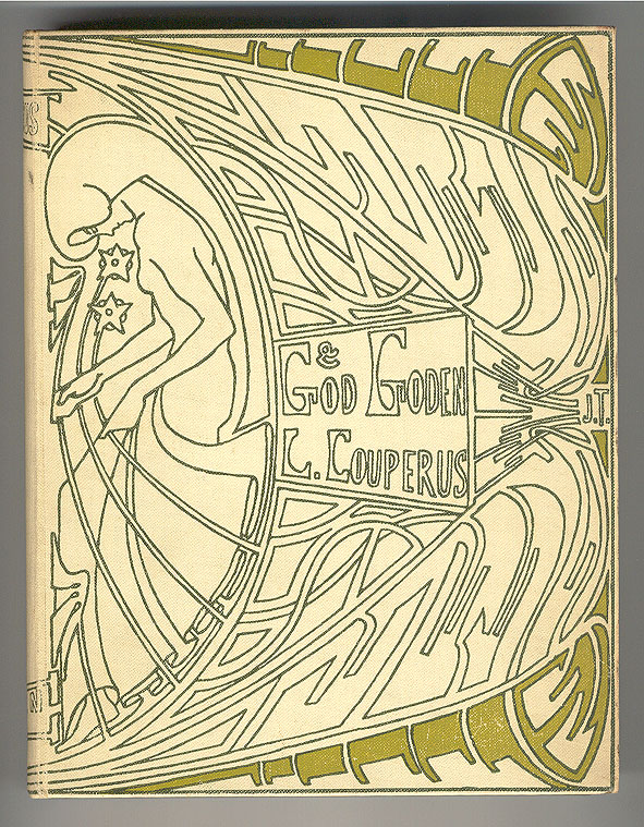 God en goden - Louis Couperus, bandontwerp: Jan Toorop (1903)