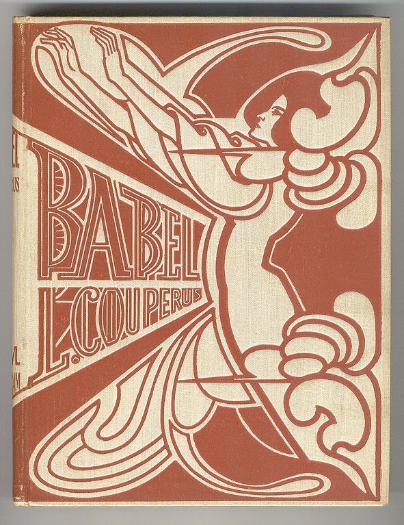 Babel - Louis Couperus, bandontwerp: Jan Toorop (1901)