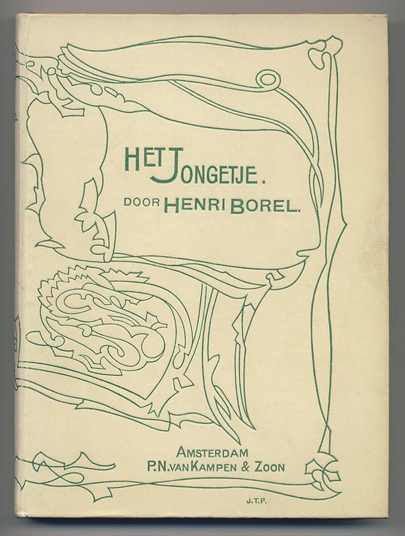 Het jongetje - Henri Borel, bandontwerp: Johan Thorn Prikker (1898)