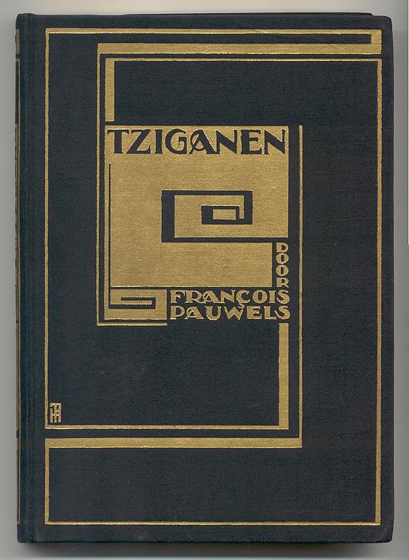 Tziganen - Francois Pauwels, bandontwerp: Pieter Hofman (1924)