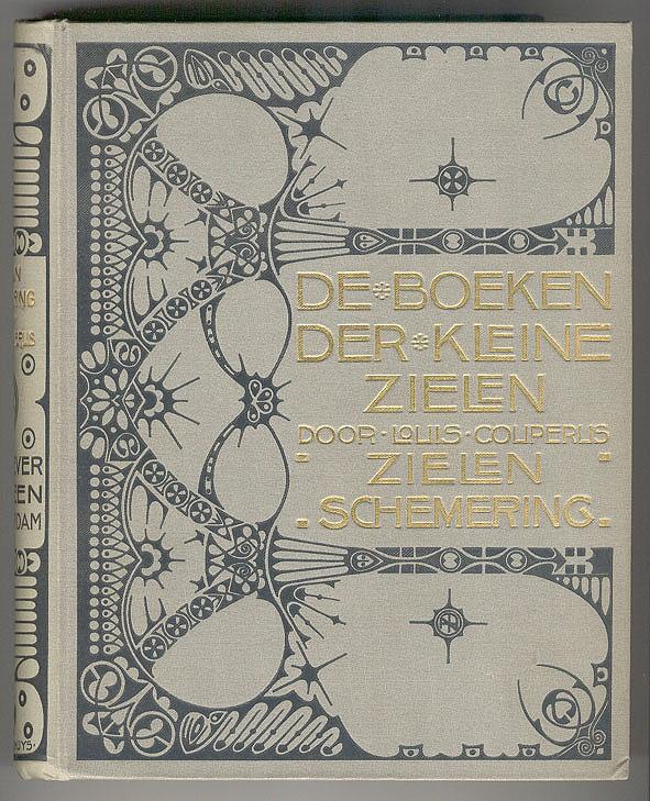 De Boeken der kleine zielen (Zielenschemering) - Louis Couperus, bandontwerp: Theo Neuhuys (1901)