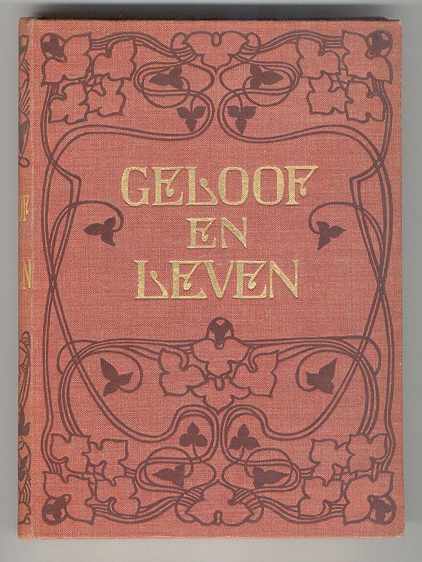 Geloof en leven (1902), bandontwerp: Johann Georg van Caspel