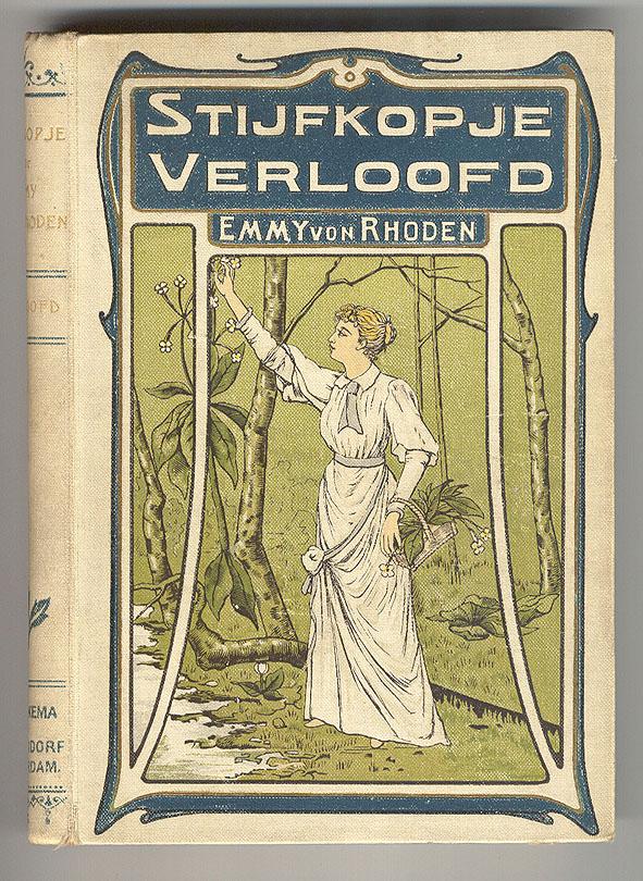 Stijfkopje verloofd - Emmy von Rhoden, bandontwerp: verm. Willem Steelink jr. (ca. 1905)