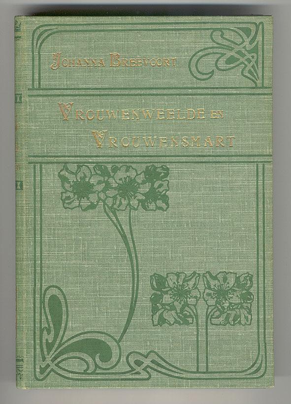 Vrouwenweelde en vrouwensmart - Johanna Breevoort (1904), bandontwerper onbekend