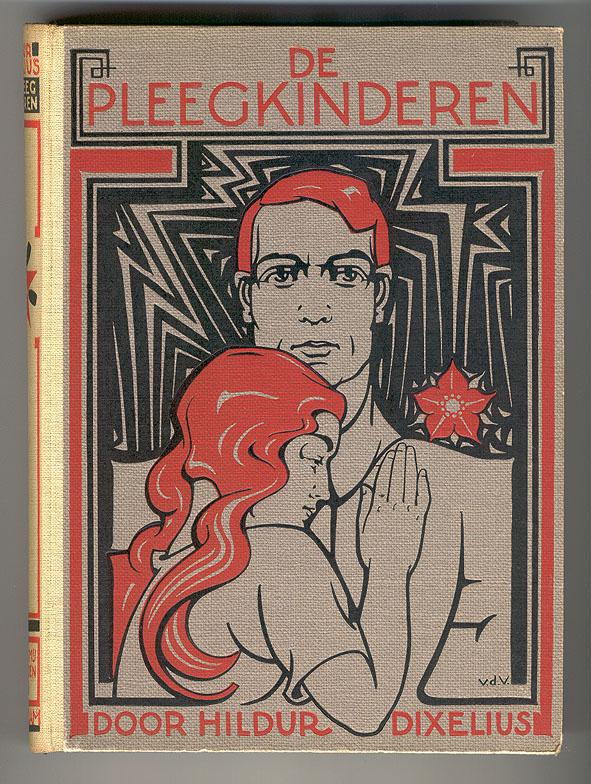 De pleegkinderen door Hildur Dixelius, bandontwerp: Nicolaas van de Vecht (1932)