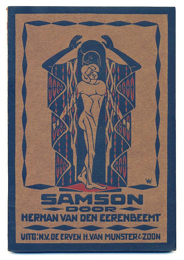Samson - Herman van den Eerenbeemt, omslagontwerp: Wim Wijnman (1918)