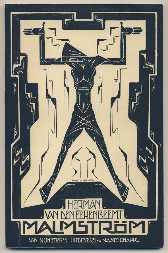 Malmström - Herman van den Eerenbeemt, omslagontwerp: Wim Wijnman (1918)