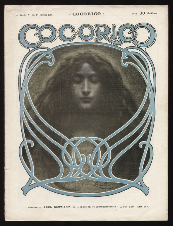 Cocorico nr. 46 1901, omslagontwerp: František Kupka