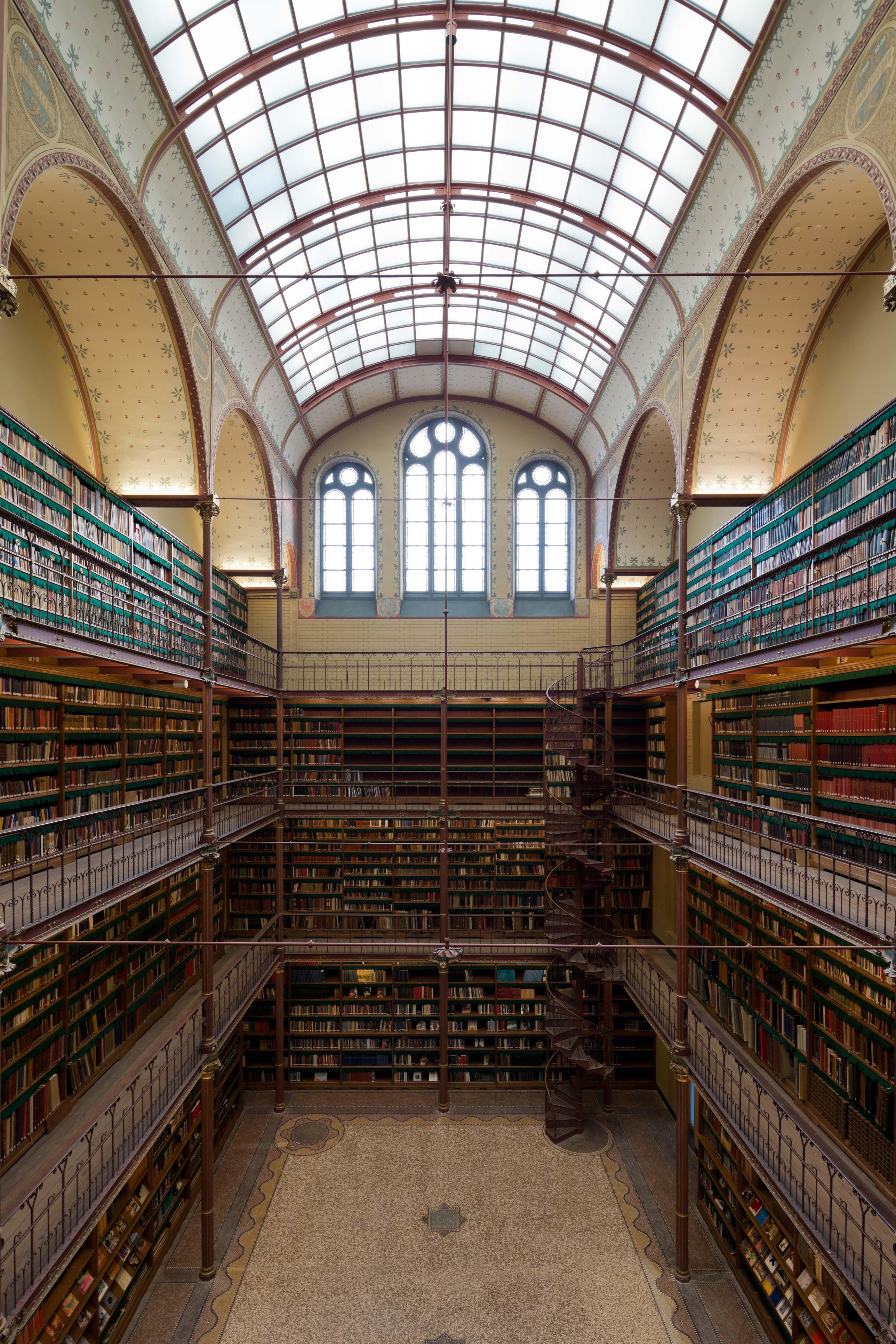 Cuypers bibliotheek Rijksmuseum