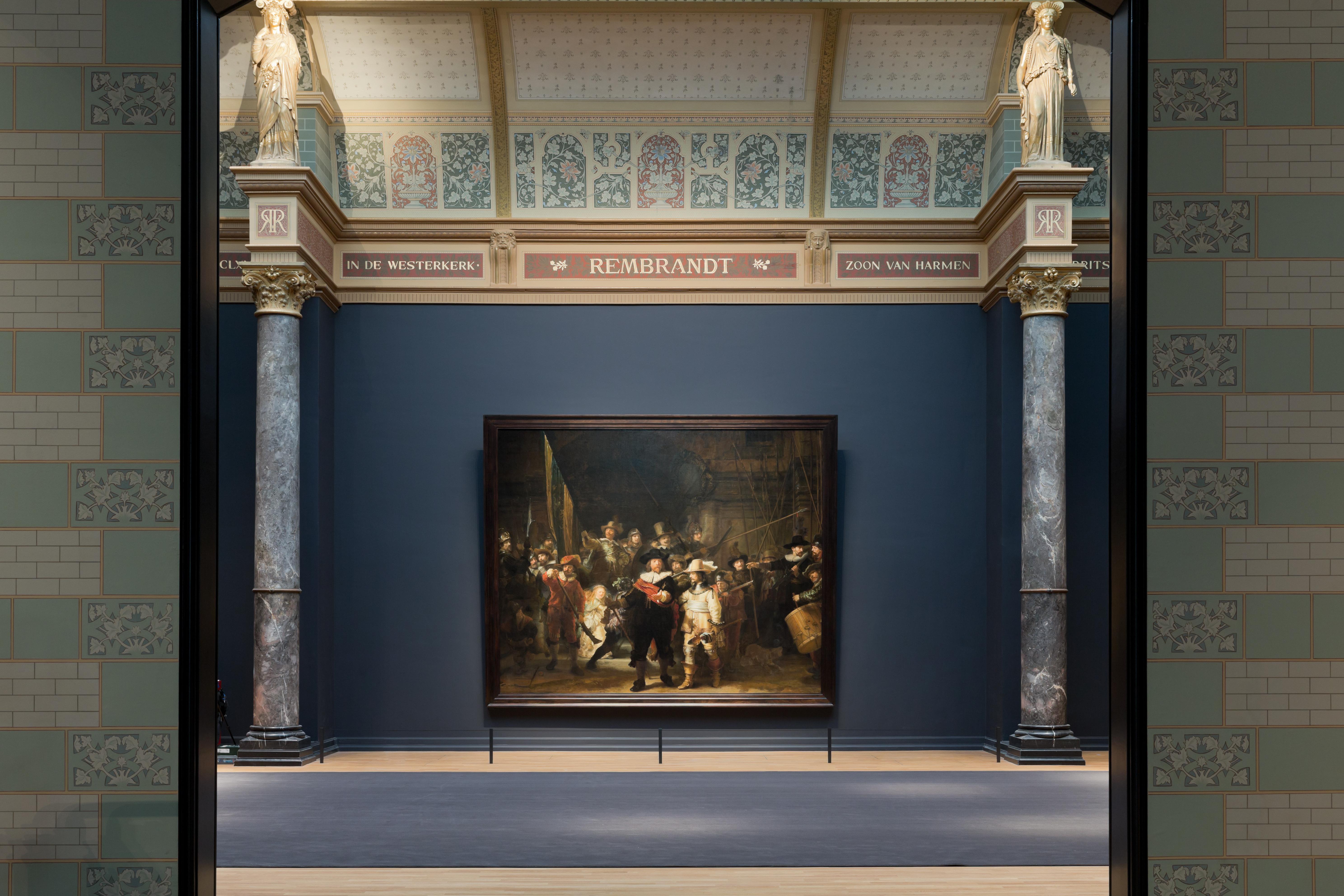 Nachtwacht Zaal (foto: Rijksmuseum)