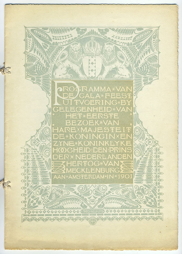 Programma Gala-Feestuitvoering, Theo Neuhuys (1901)