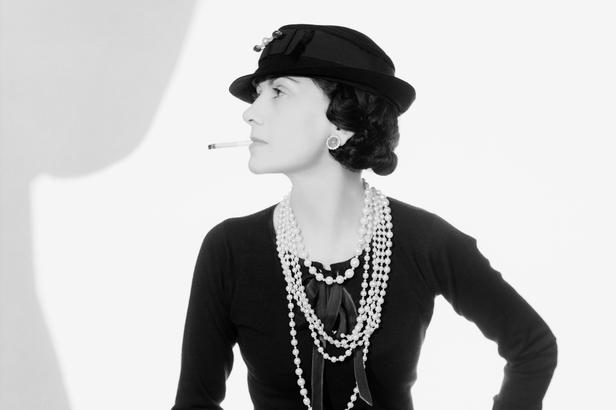 Coco Chanel, 1935 (foto: Man Ray)