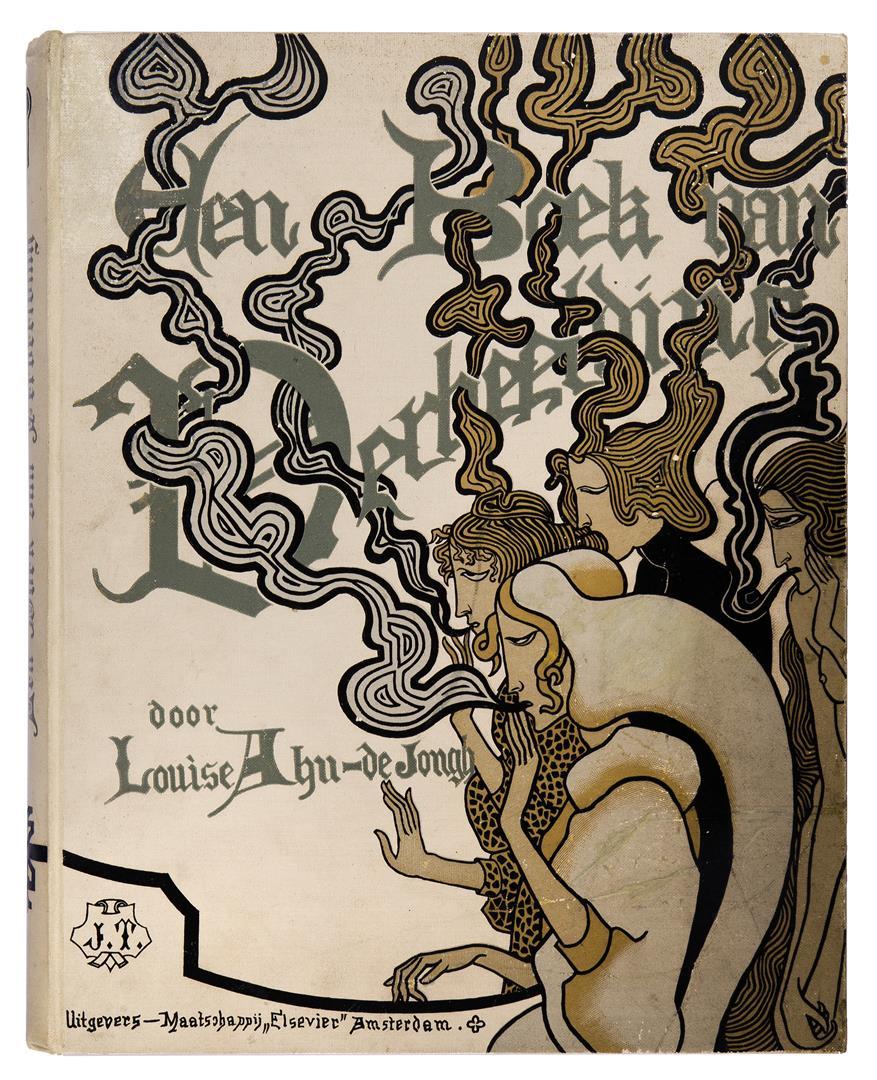 Een boek van verbeelding - L. Ahn-de Jongh, bandontwerp: Jan Toorop (1893)