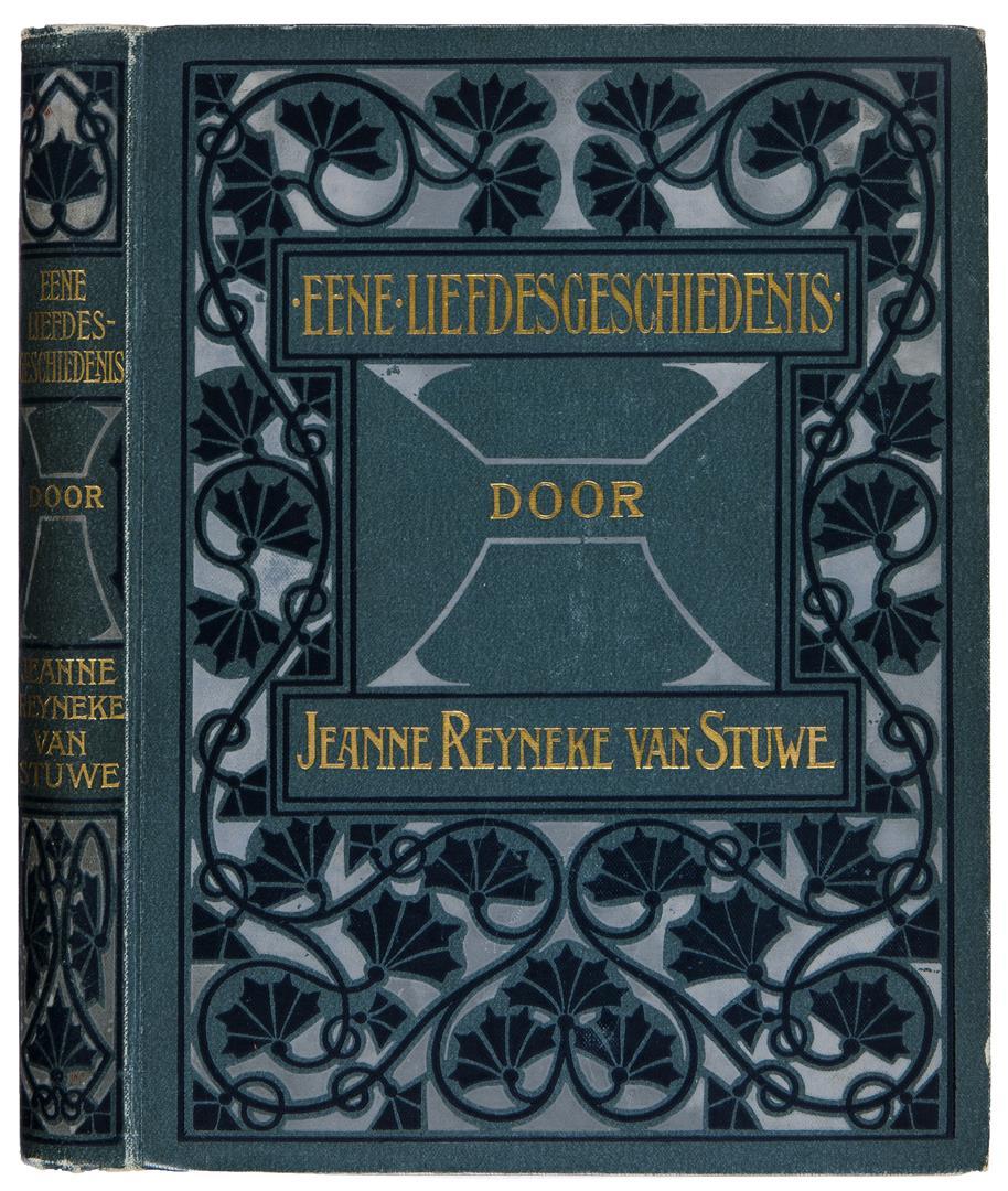 Eene Liefdesgeschiedenis - J. Reyneke van Stuwe (1902), bandontwerp: onbekend