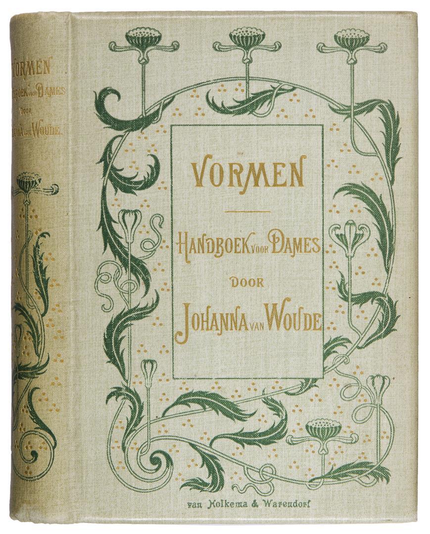 Vormen - Johanna van Woude (1898), bandontwerp: onbekend