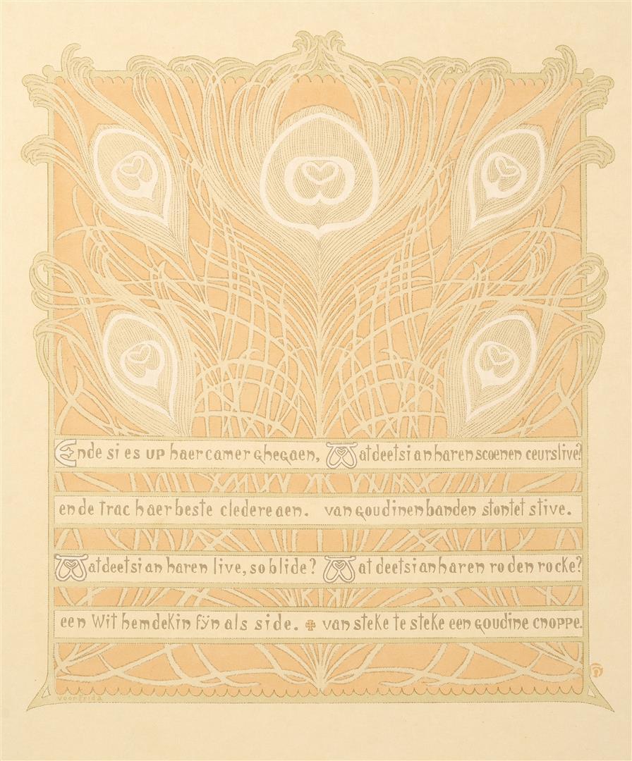 Prent IX uit Dat Liedekin van Heere Halewine, Henricus Jansen (1904)