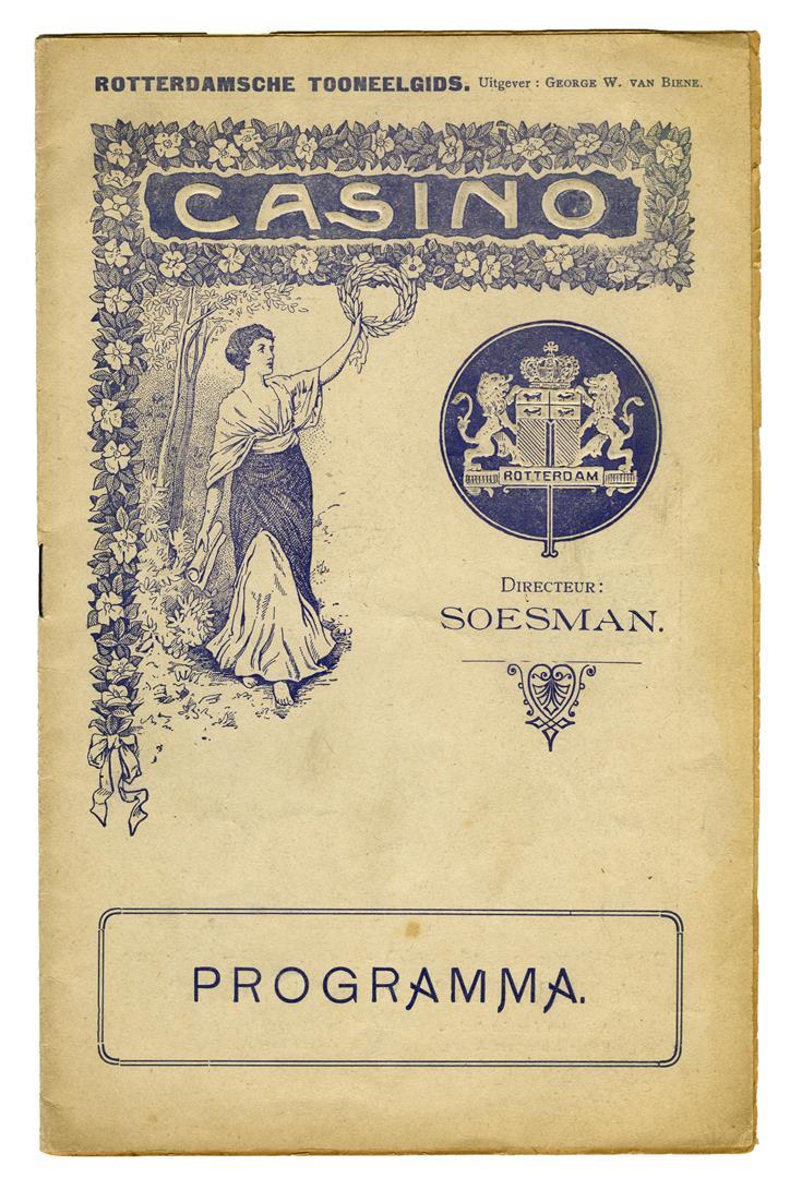 Rotterdamsche Toneelgids - Programma Casino-Variété