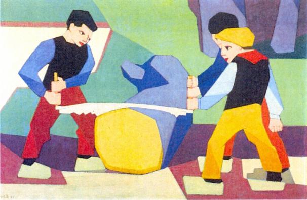 Bart-van-der-Leck-tentoonstelling-Mauve-Mondriaan-Singer-Laren