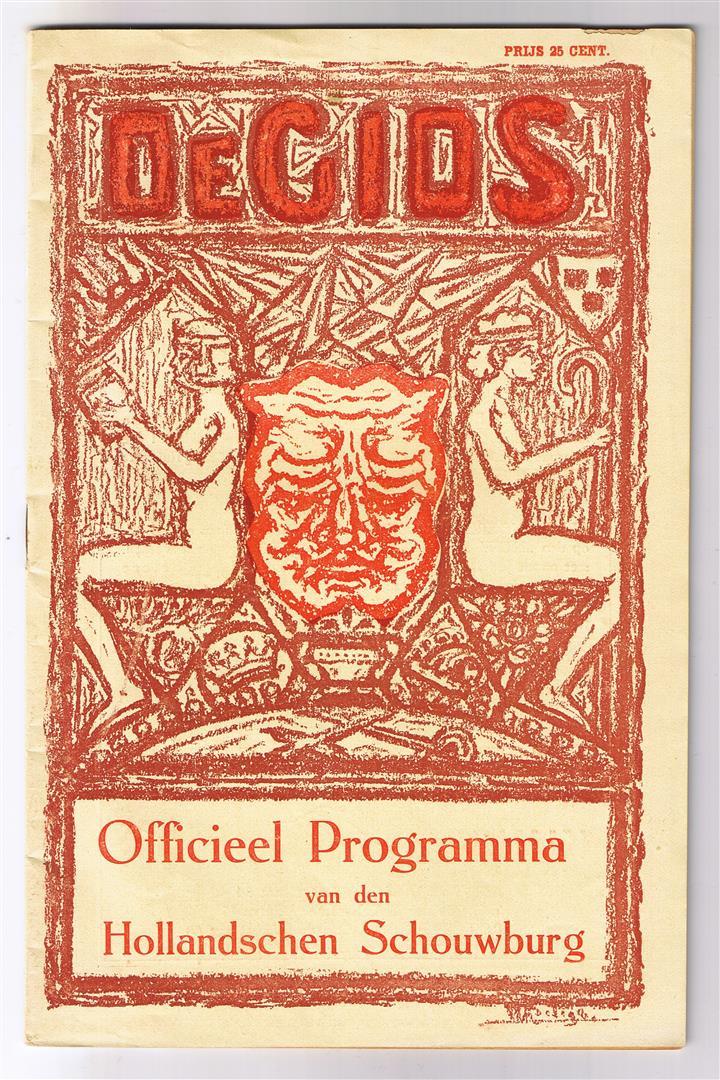De Gids - programmaboekje Hollandsche Schouwburg (1925)
