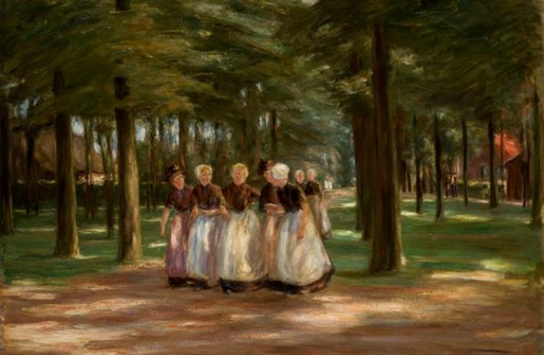 Max Liebermann - Sonntagnachmittag in Laren, 1899