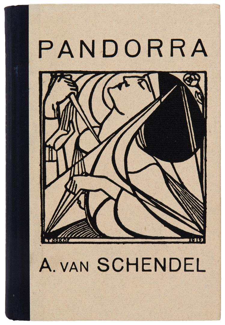Pandorra - Arthur van Schendel, bandontwerp: Jan Toorop (1919)