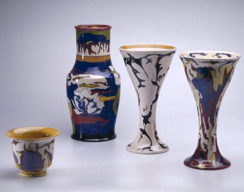 Sieraardewerk van Theo Colenbrander uit de jaren 20, Collectie Rijksdienst voor het Cultureel Erfgoed en Collectie Drents Museum