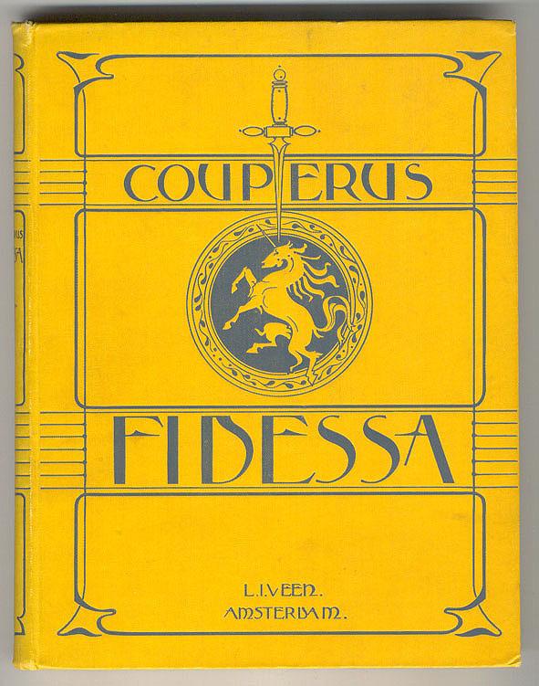 Fidessa - Louis Couperus, bandontwerp: Karel Sluyterman (1899)