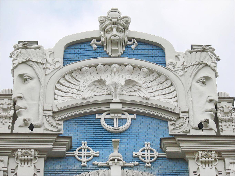 Immeuble art nouveau (Riga)