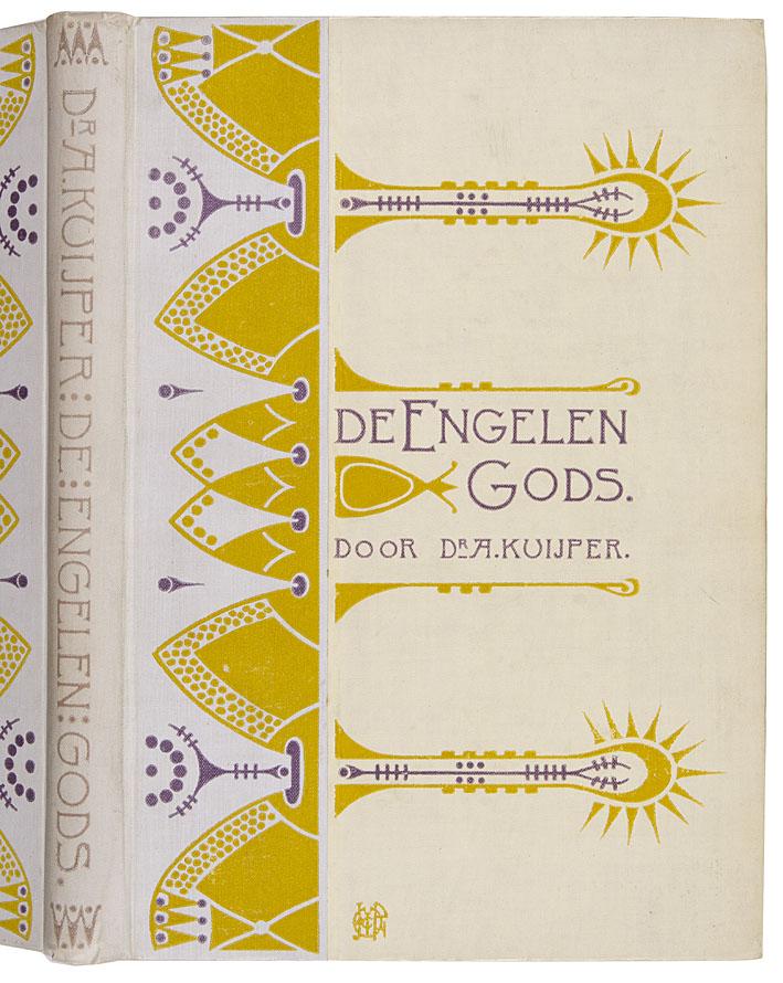 De Engelen Gods - dr. A. Kuijper, bandontwerp: Jacobus Philippus Wormser (1902)