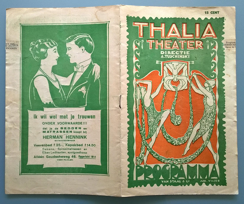Programma_Thalia_Theater_Rotterdam_Adr_Visser_omslag