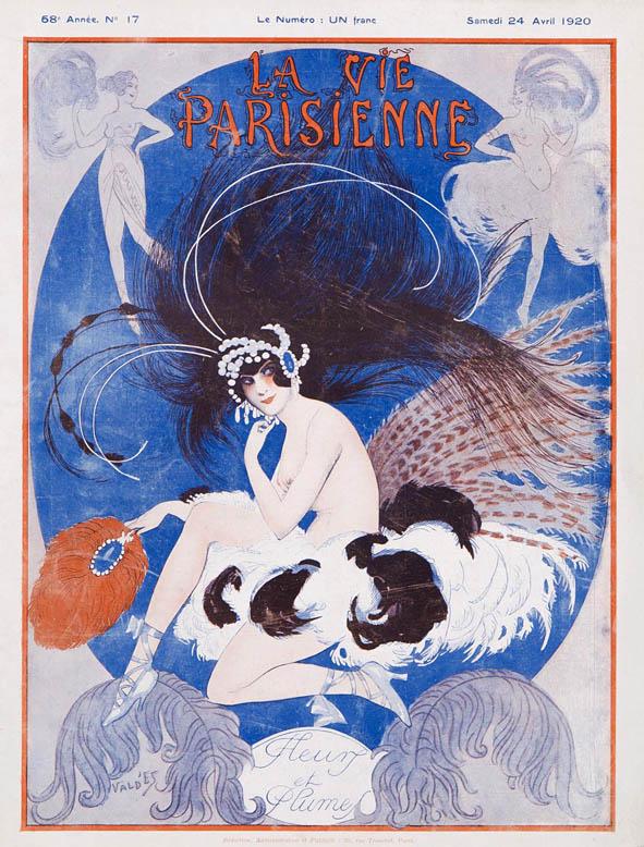 La_Vie_Parisienne_illustration_ValdEs_art deco_avril_1920
