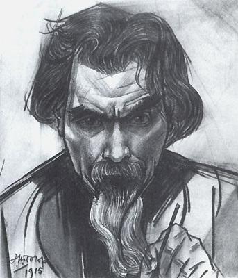 Jan Toorop zelfportret 1915
