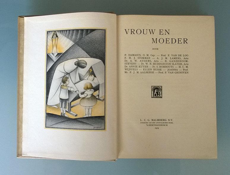 Boekillustratie_Vrouw_en_Moeder_1929_Frans_Bosen