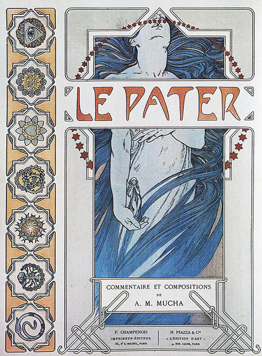 Mucha_Le_Pater_front_cover