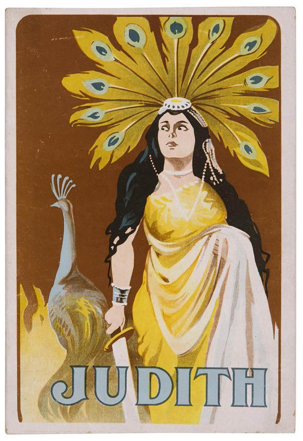 Filmboekje Judith en Holofernes (1914)