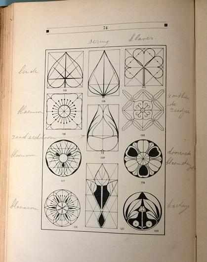 Jan_Ros_ontwerpen_vlakornament_geometrie