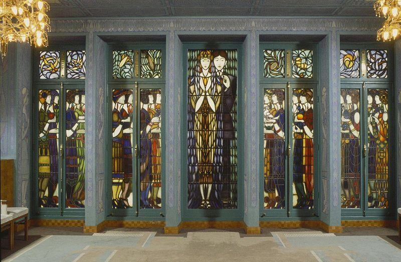 glas-in-loodramen_chris_lebeau_trouwkamer_stadhuis_amsterdam