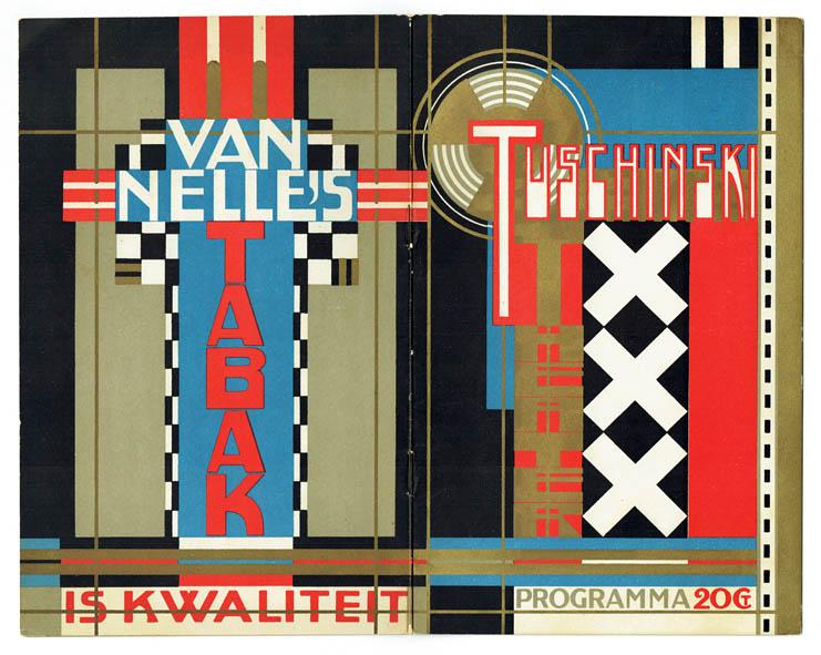 Programmaboekje van Jac. Jongert voor Theater Tuschinski (1925/1926)