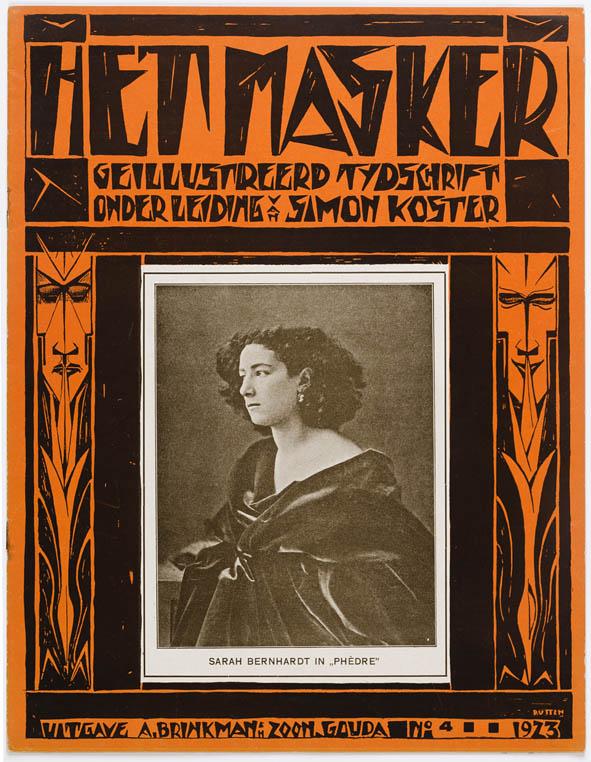 Tijdschrift Het Masker, omslagontwerp Gerard Rutten (1923)