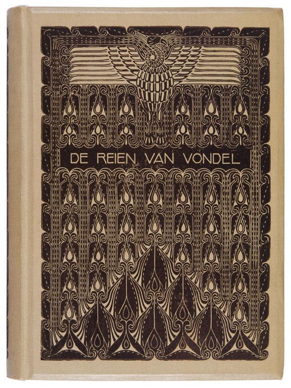 De reien van Vondel, bandontwerp: Chris Lebeau (1910)