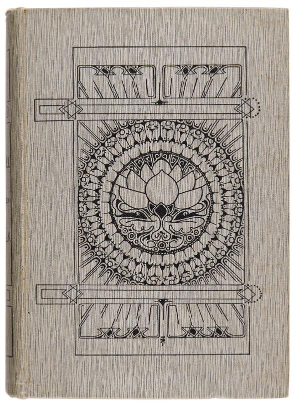 H. Fielding - De ziel van een volk, bandontwerp: Johan Thorn Prikker (1905)
