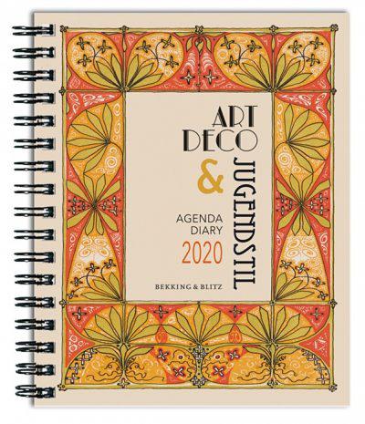 Art Deco en Jugendstil agenda 2020