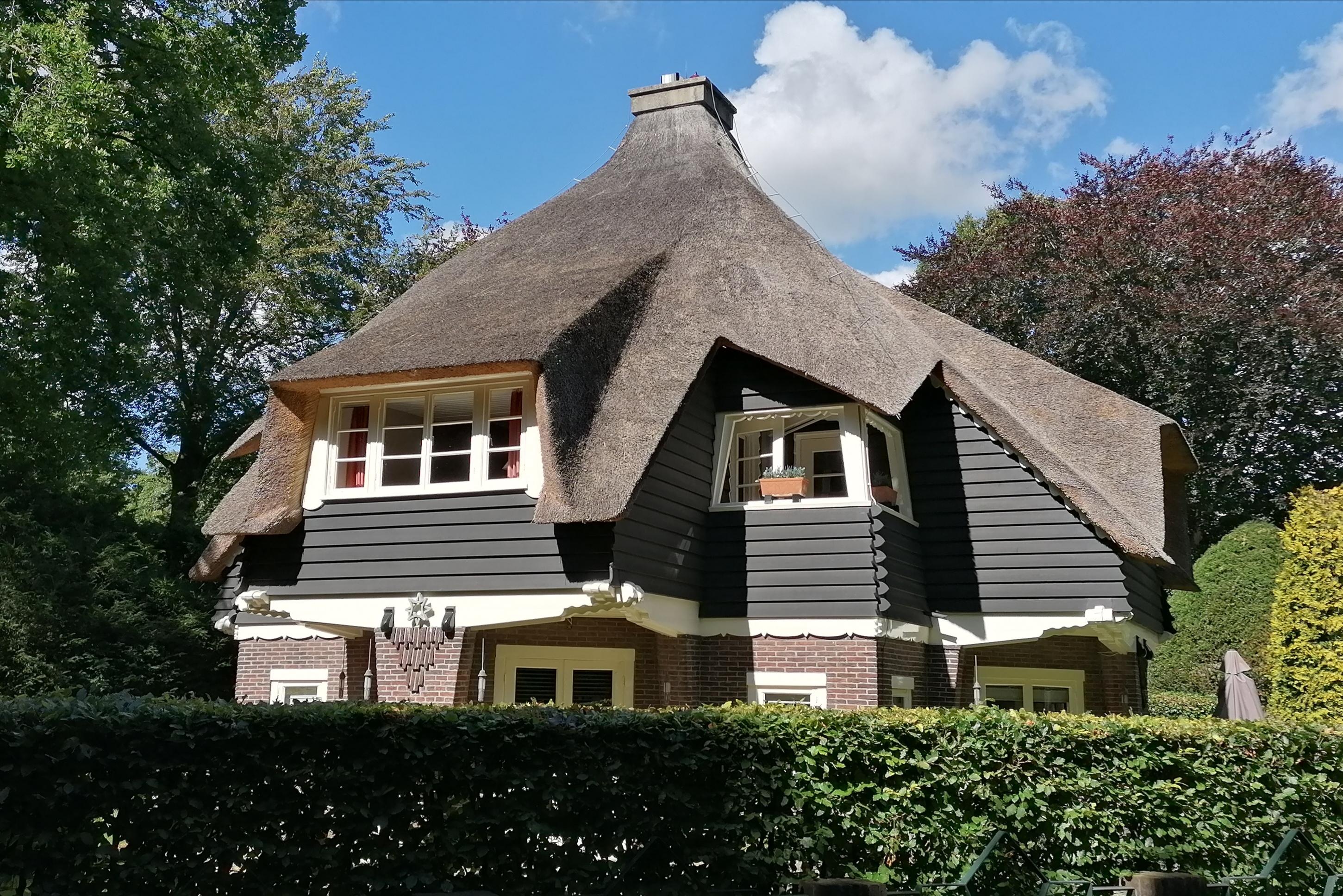Huize Meerhoek van architect Cornelis Blaauw in Park Meerwijk te Bergen.